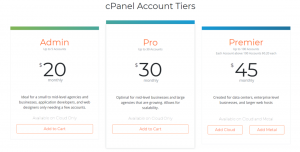 webhosting cpanel